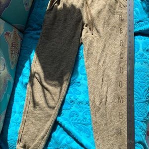 Abercrombie & Fitch Pants - Abercrombie&Fitch Army Green Sweatpants